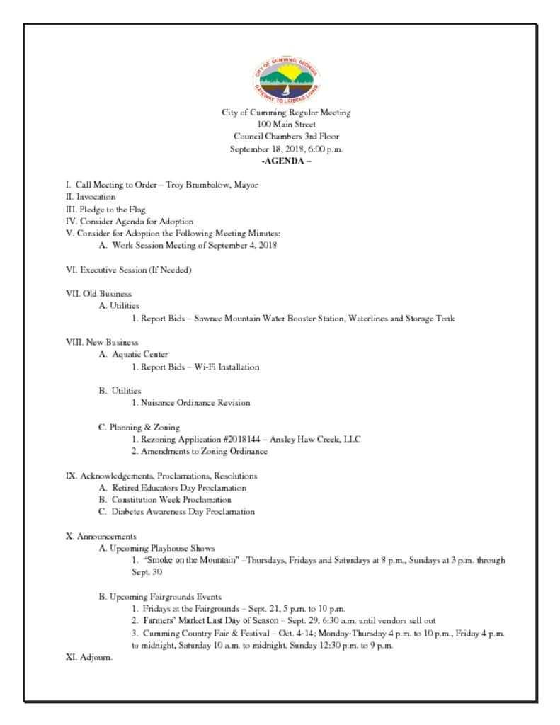 thumbnail of Agenda Sept 18 18 regular