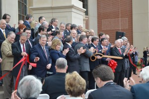 Courthouse Ribbon Cutting