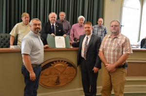 Cumming Utilities Department Honored