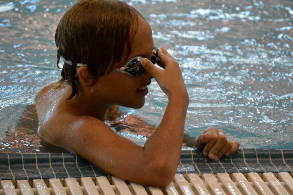 swimmer w goggles